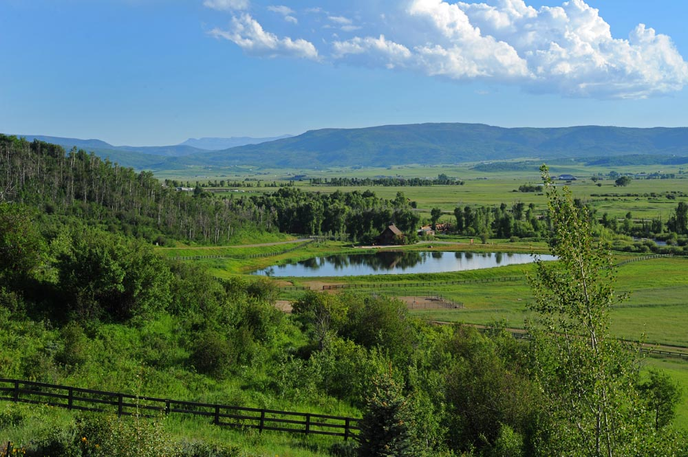 Stunning Views on a Sunny Day at Alpine Mountain Ranch & Club
