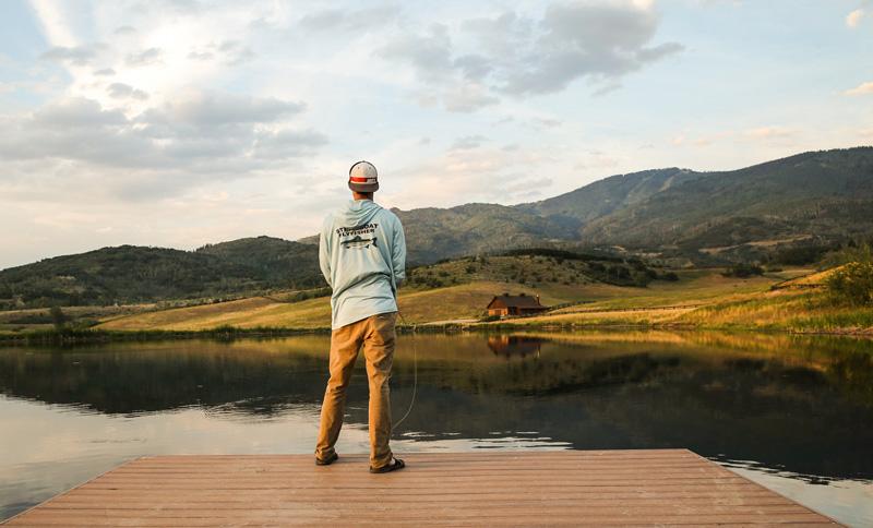 Mason fishing