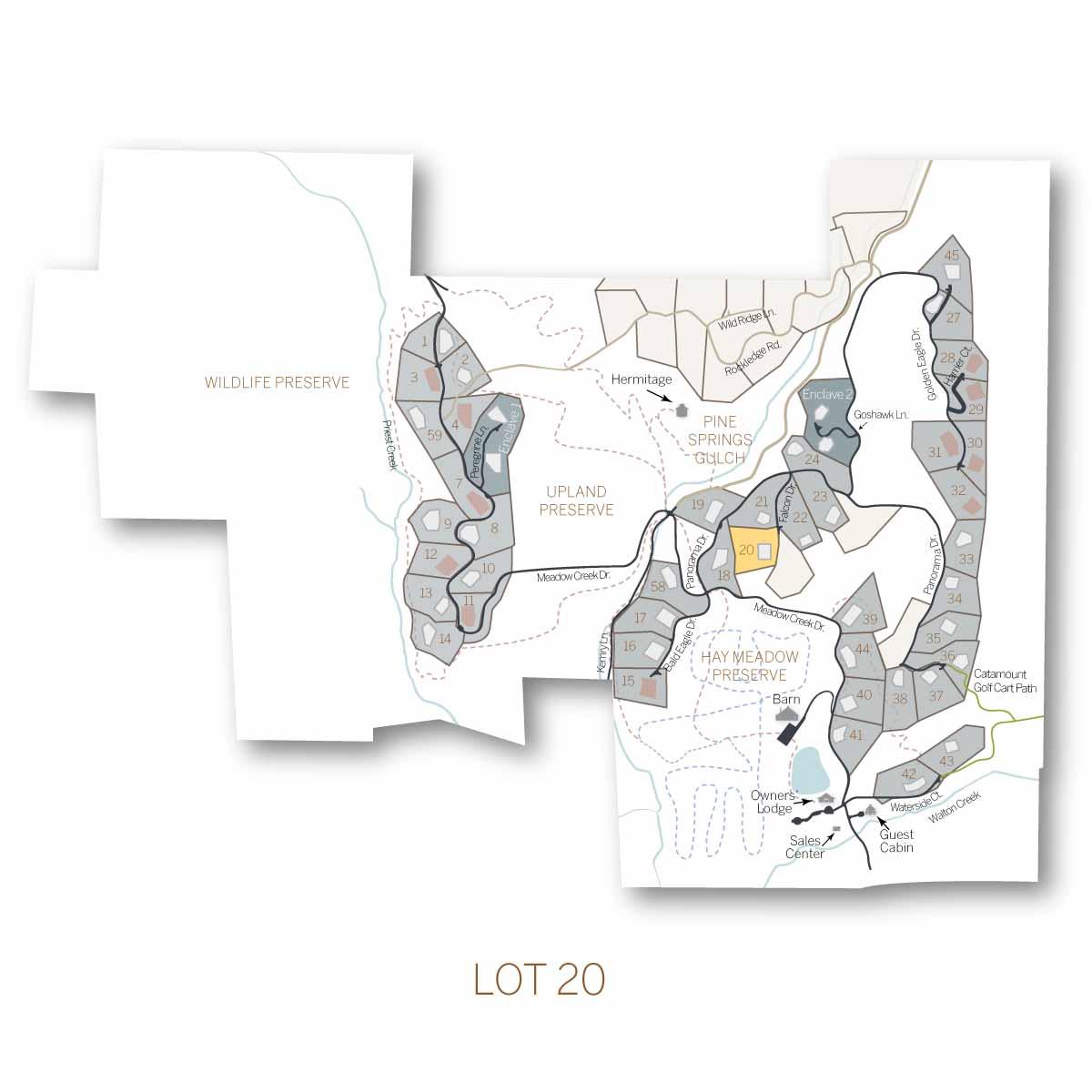 lot 20 1 - Homesite #20