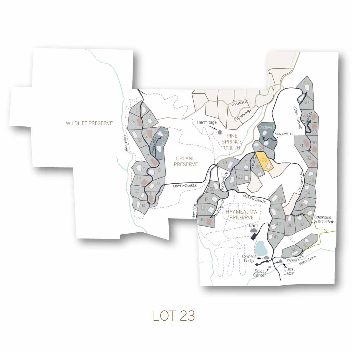 lot 23.1 - Homesite #23