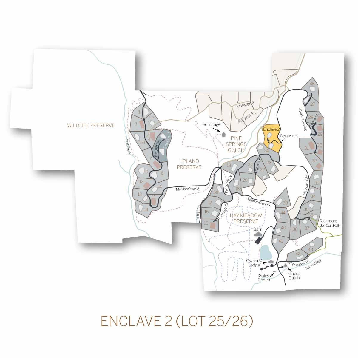 lot 25 26 Enclave 2 - Homesite #25