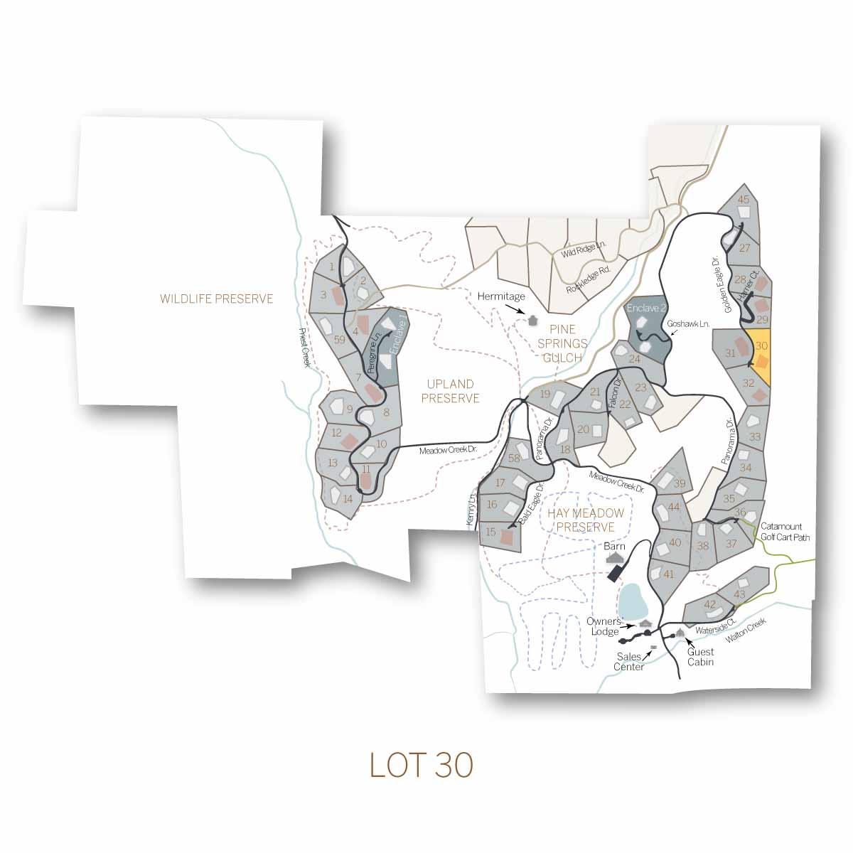 lot 30 - Homesite #30