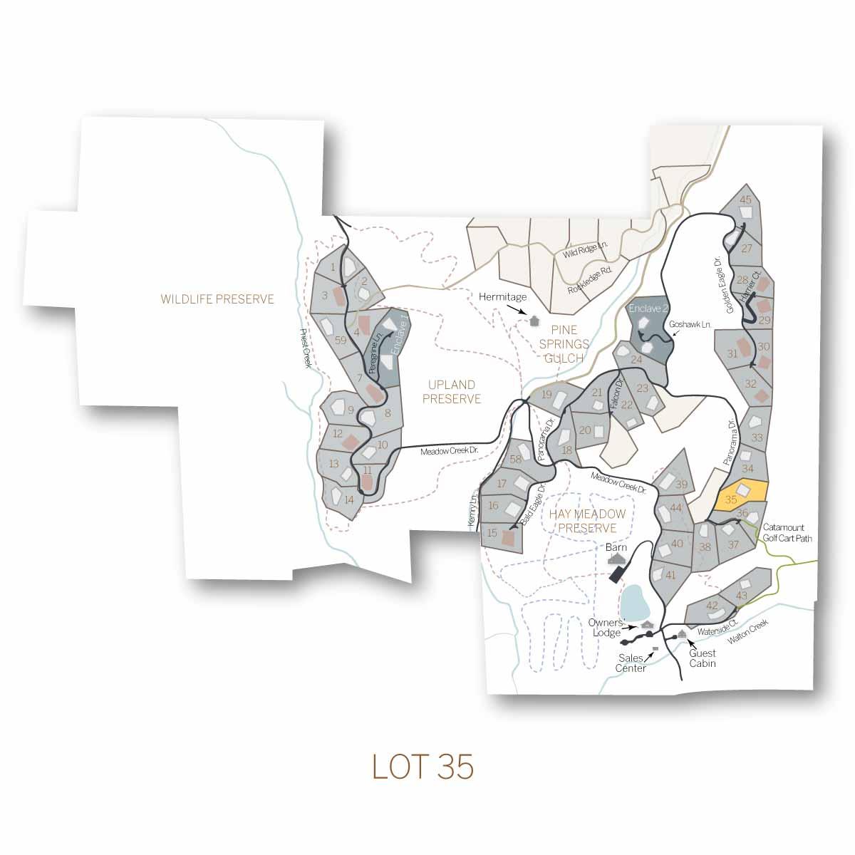 lot 35 1 - Homesite #35