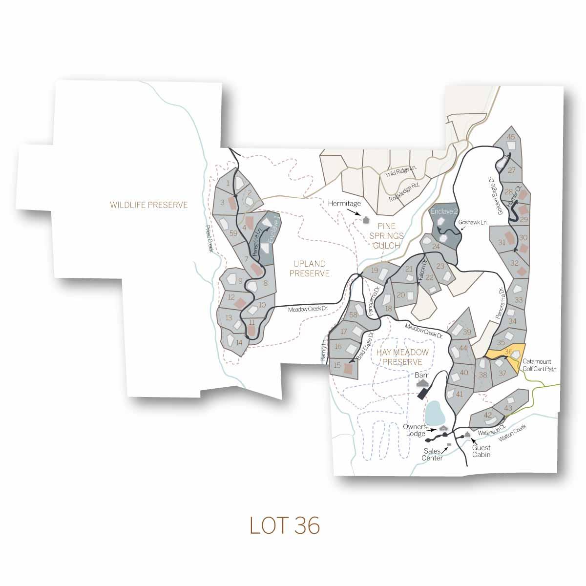 lot 36 - Homesite #36
