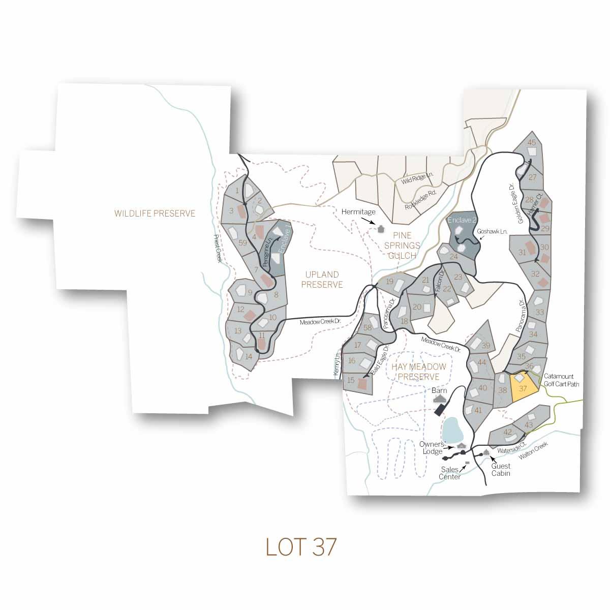 lot 37 1 - Homesite #37