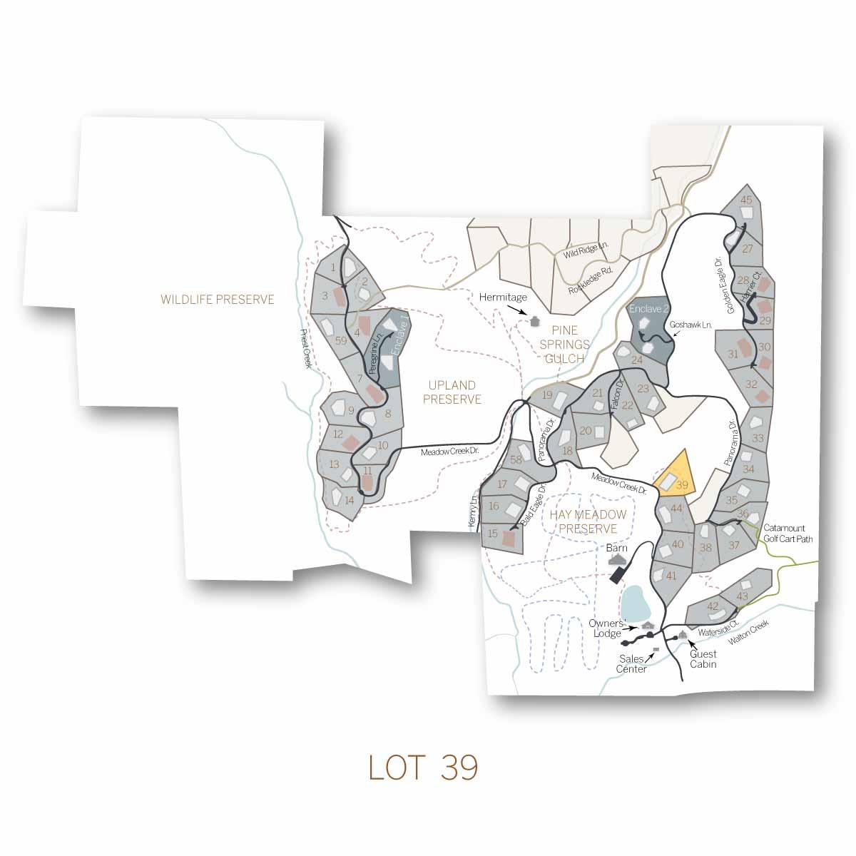 lot 39 1 - Homesite #39