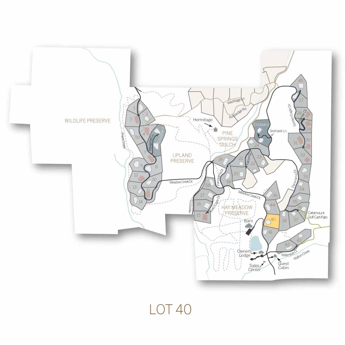 lot 40 1 - Homesite #40