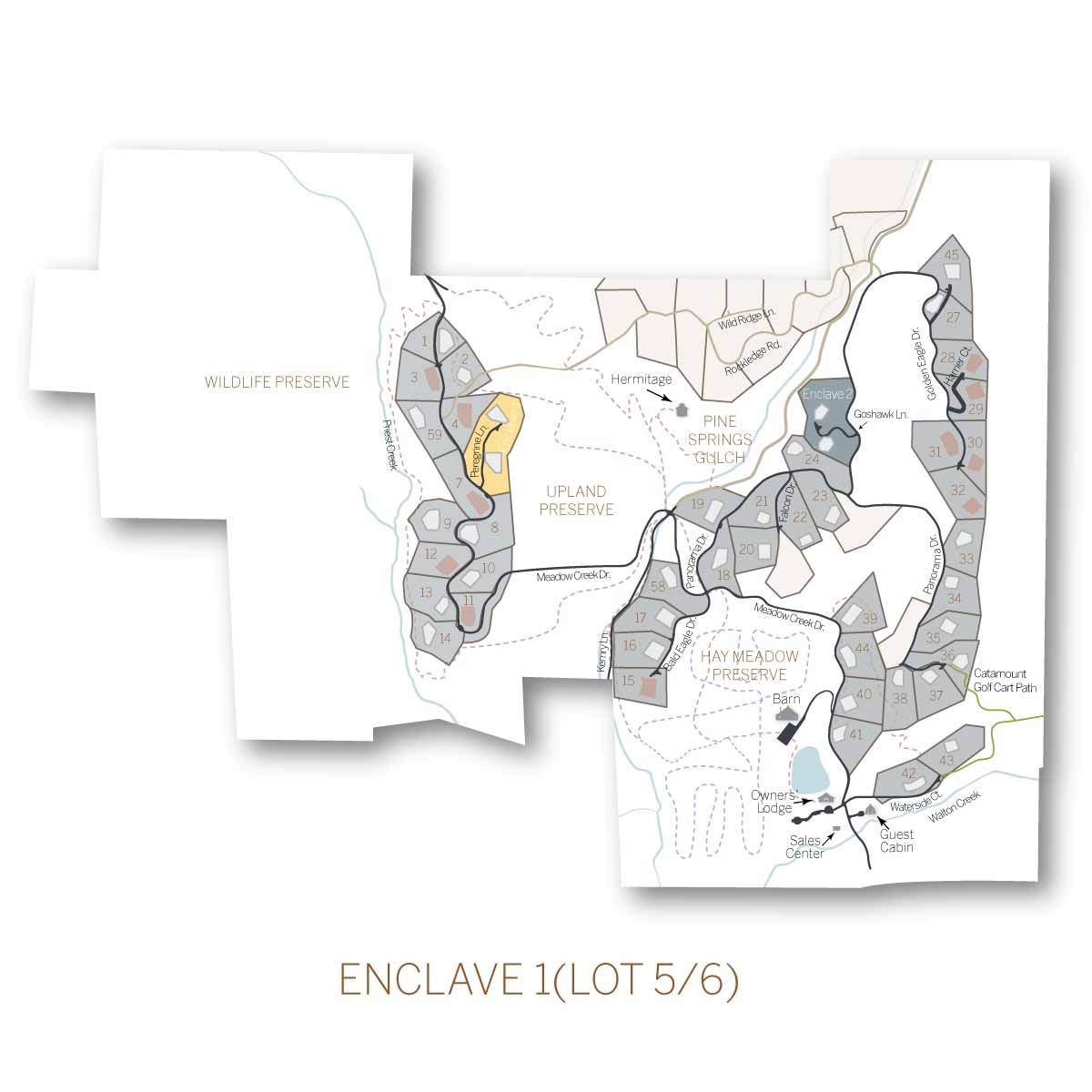 lot 5 6 Enclave1 - Alpine Enclave 1 (formerly lots 5/6)