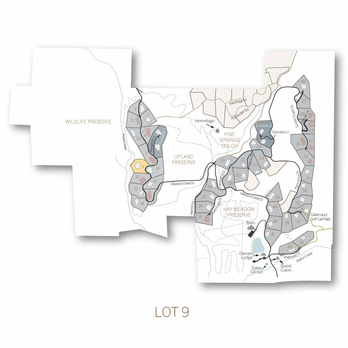 lot 9 1 - Homesite #9