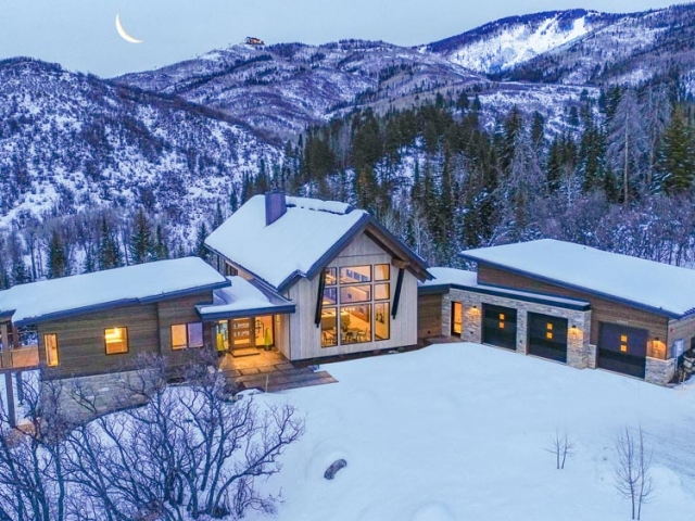 Alpine Mountain Ranch Property Twilight Drone 30 1 640x480 c - Homesite #12: MOONLIGHT RUN - SOLD