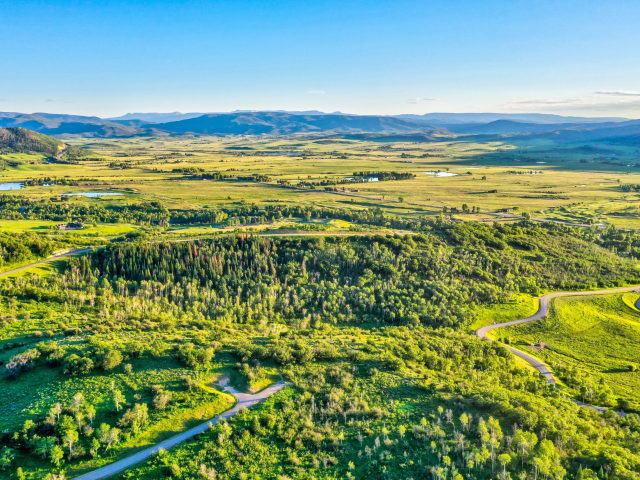 Alpine Mountain Ranch Club June 2020 Lot 18 Sunset Drone Aerial 1 scaled 640x480 c - Homesite #18: SUNSET RETREAT - SOLD