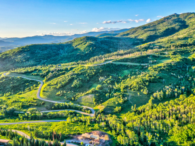 Alpine Mountain Ranch Club June 2020 Lot 18 Sunset Drone Aerial 11 scaled 640x480 c - Homesite #18: SUNSET RETREAT - SOLD