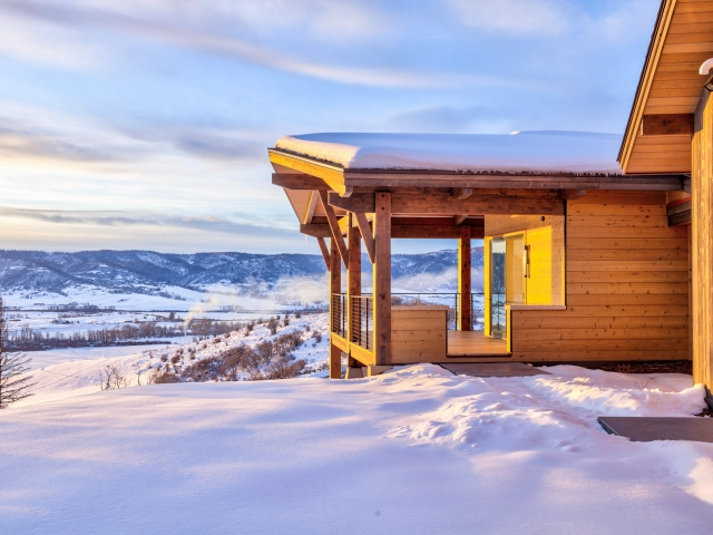 Lot 18 34815 Panoraa Dr. Steamboat Springs  CO 80487 Exterior HDR Image 12 640x480 c - Homesite #18: SUNSET RETREAT - SOLD