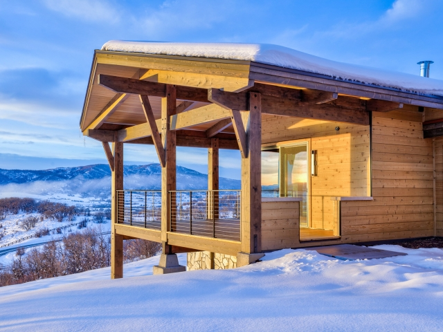 Lot 18 34815 Panoraa Dr. Steamboat Springs  CO 80487 Exterior HDR Image 13 640x480 c - Homesite #18: SUNSET RETREAT - SOLD