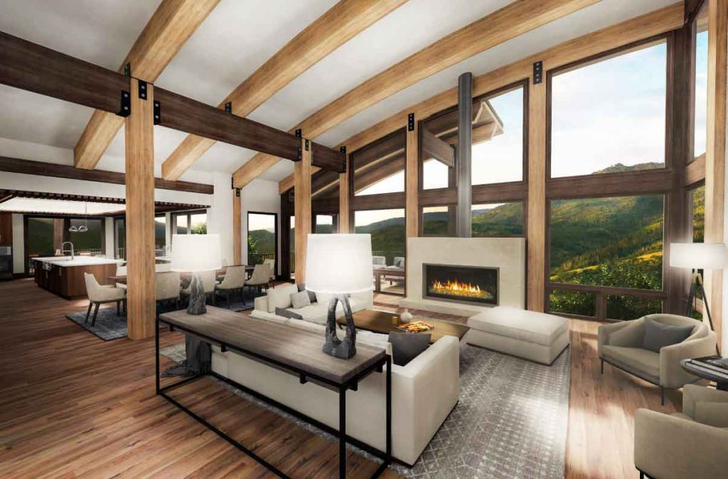 lot 18 interior rendering 2 1024x675 - Homesite #18: SUNSET RETREAT