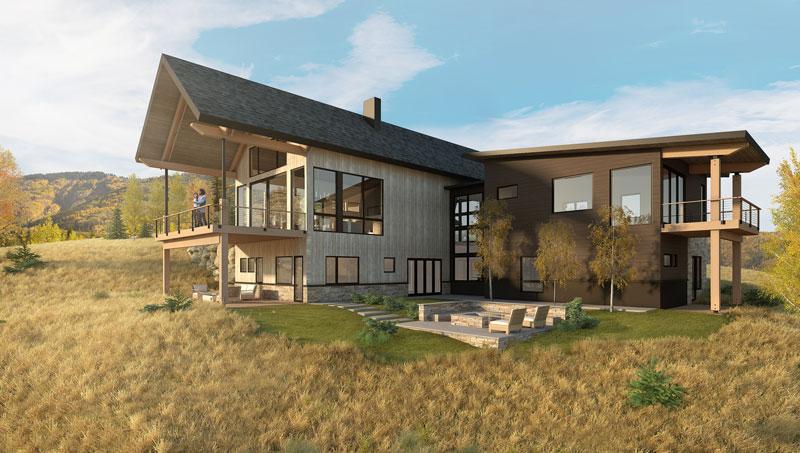 alpine mountain ranch custom spec homesite 12 rendering3 - Market Homes