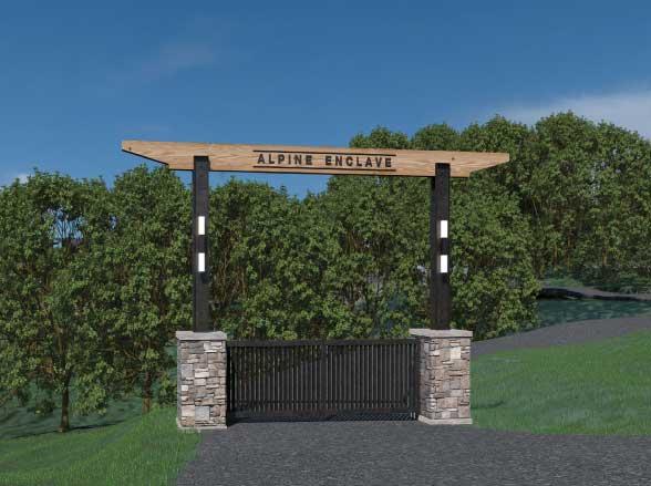 enclave gate - Alpine Enclave