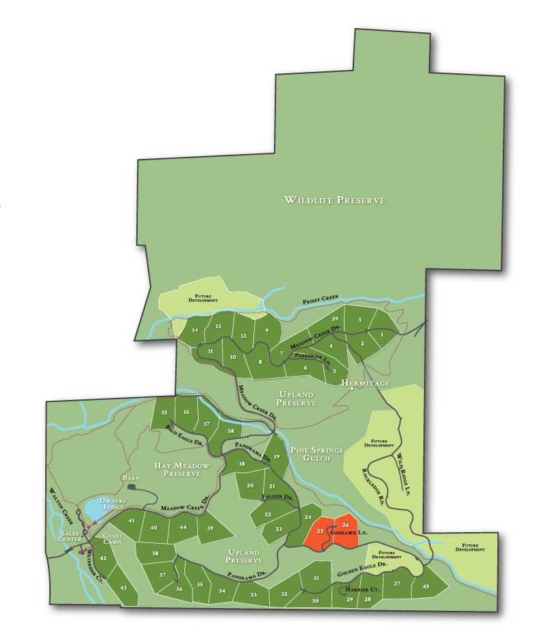 LOT MAP enclave2 - Alpine Enclave 2 (formerly lots 25/26)