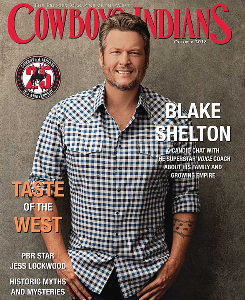 cowboys indians cover october - Press