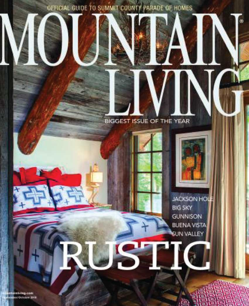 mountain living cover - Press