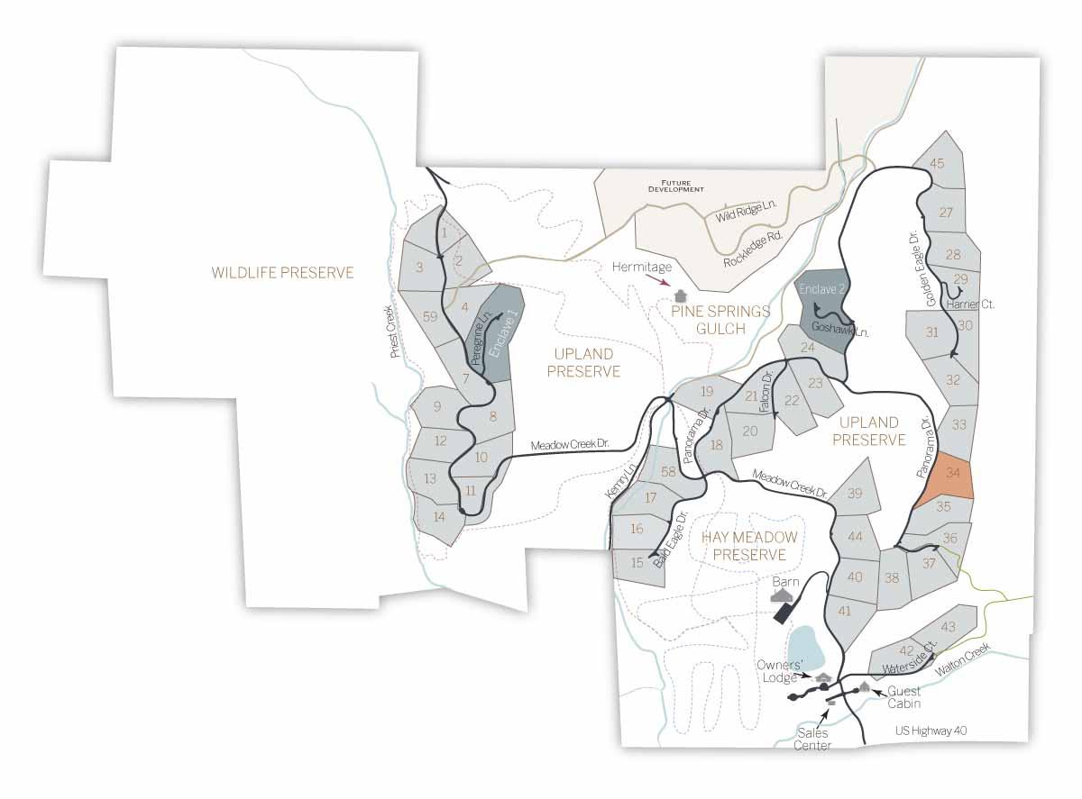 LOT MAP 34 - Homesite #34