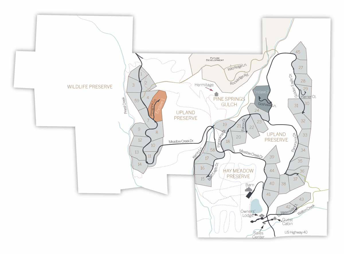 LOT MAP 5 6 enclave1 - Alpine Enclave 1 (formerly lots 5/6)