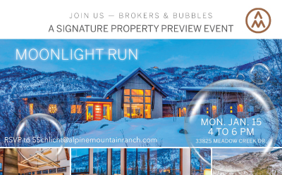 Brokers & Bubbles Event Held at Alpine Mountain Ranch & Club