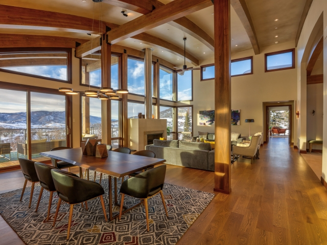 LOT 18 34815 Panoraa Dr. Steamboat Springs  CO 80487 Interior HDR Image 1 640x480 c - Homesite #18: SUNSET RETREAT - SOLD