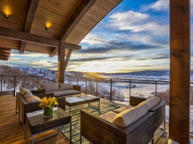 Lot 18 34815 Panoraa Dr. Steamboat Springs  CO 80487 Exterior HDR Image 1 640x480 c - Homesite #18: SUNSET RETREAT - SOLD