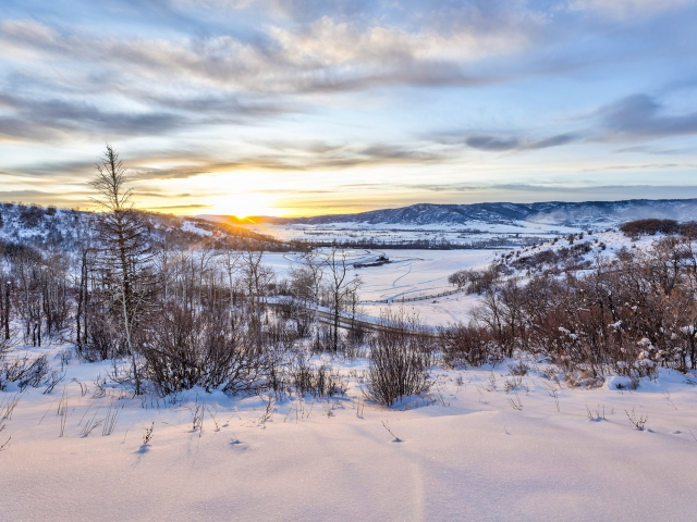 Lot 18 34815 Panoraa Dr. Steamboat Springs  CO 80487 Exterior HDR Image 21 640x480 c - Homesite #18: SUNSET RETREAT - SOLD
