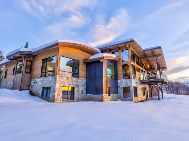 Lot 18 34815 Panoraa Dr. Steamboat Springs  CO 80487 Exterior HDR Image 32 640x480 c - Homesite #18: SUNSET RETREAT - SOLD