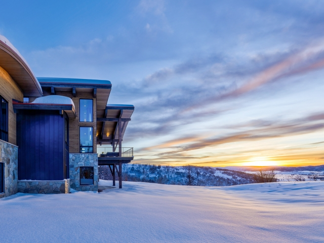 Lot 18 34815 Panoraa Dr. Steamboat Springs  CO 80487 Exterior HDR Image 36 640x480 c - Homesite #18: SUNSET RETREAT - SOLD