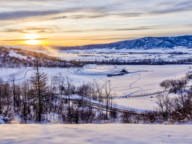 Lot 18 34815 Panoraa Dr. Steamboat Springs  CO 80487 Exterior HDR Image 4 640x480 c - Homesite #18: SUNSET RETREAT - SOLD