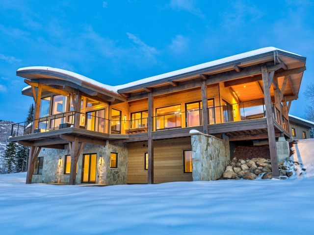 Lot 18 34815 Panoraa Dr. Steamboat Springs  CO 80487 Exterior HDR Image 55 640x480 c - Homesite #18: SUNSET RETREAT - SOLD