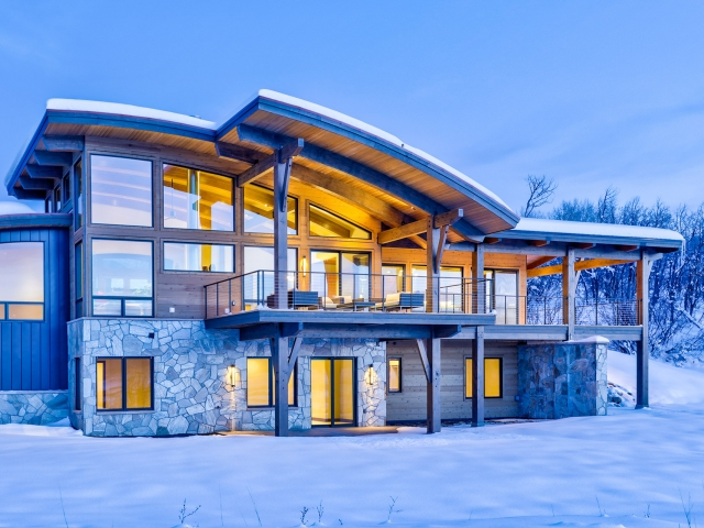 Lot 18 34815 Panoraa Dr. Steamboat Springs  CO 80487 Exterior HDR Image 61 640x480 c - Homesite #18: SUNSET RETREAT - SOLD