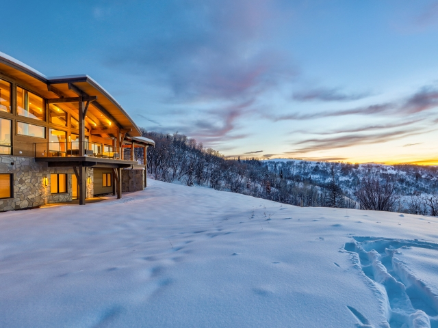 Lot 18 34815 Panoraa Dr. Steamboat Springs  CO 80487 Exterior HDR Image 63 640x480 c - Homesite #18: SUNSET RETREAT - SOLD