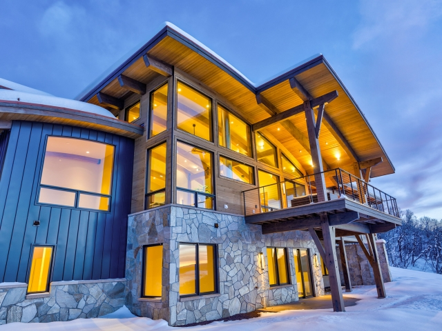 Lot 18 34815 Panoraa Dr. Steamboat Springs  CO 80487 Exterior HDR Image 65 640x480 c - Homesite #18: SUNSET RETREAT - SOLD