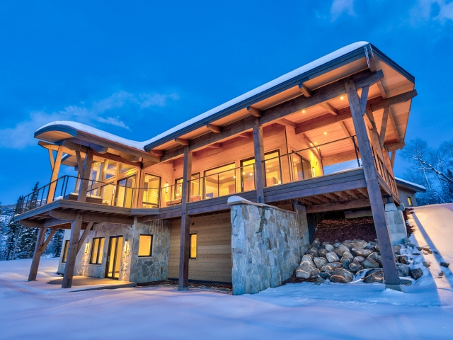 Lot 18 34815 Panoraa Dr. Steamboat Springs  CO 80487 Exterior HDR Image 72 640x480 c - Homesite #18: SUNSET RETREAT - SOLD