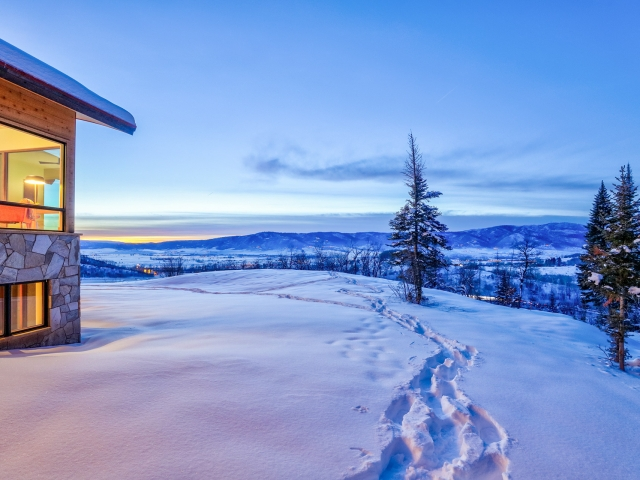 Lot 18 34815 Panoraa Dr. Steamboat Springs  CO 80487 Exterior HDR Image 80 640x480 c - Homesite #18: SUNSET RETREAT - SOLD