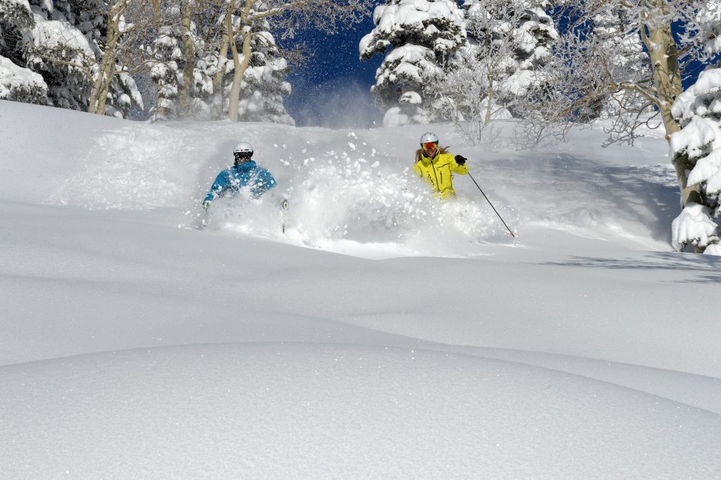 Pow Ski 68 1 1024x682 - Alpine Mountain Summit Club offers Exclusive Slopeside Access to Steamboat Ski Resort