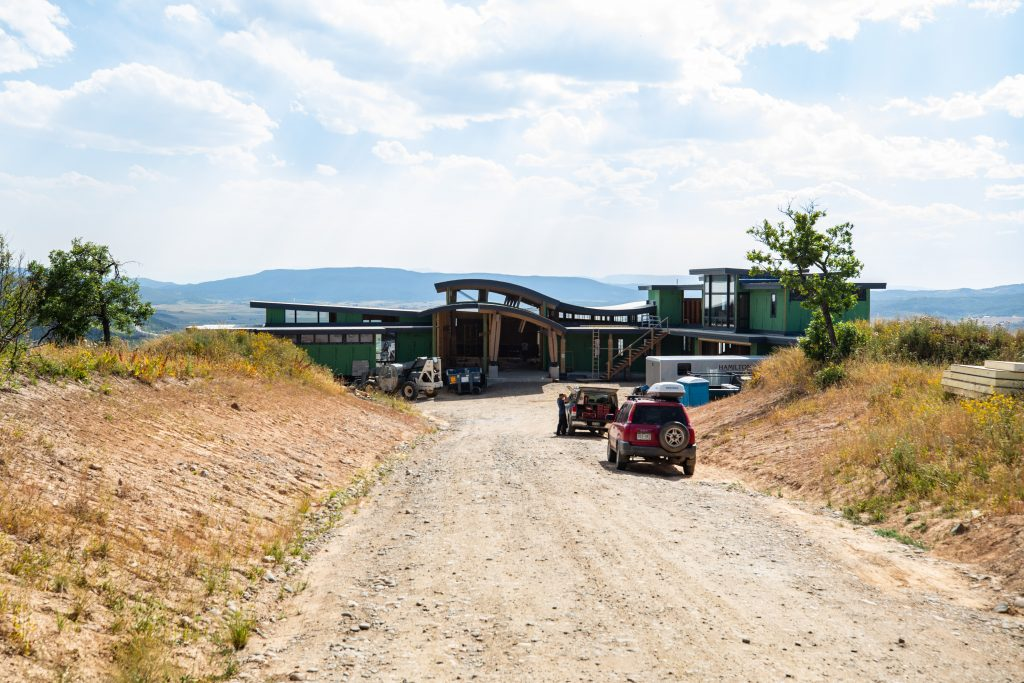 Alpine Mountain Ranch Club August 2020 Construction Photography 59 1024x683 - Construction Update Lot 19 - Under Contract Pre Build-Out + Lot 29 Home Surpasses 12,000 Square Feet!