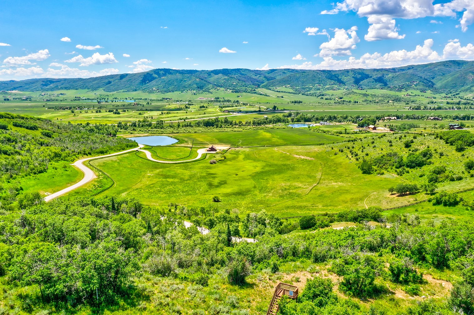 Alpine Mountain Ranch Club June 2020 Lot 18 Daylight Drone Aerial 35 websize - Construction Booms at Luxury Rural Ranch