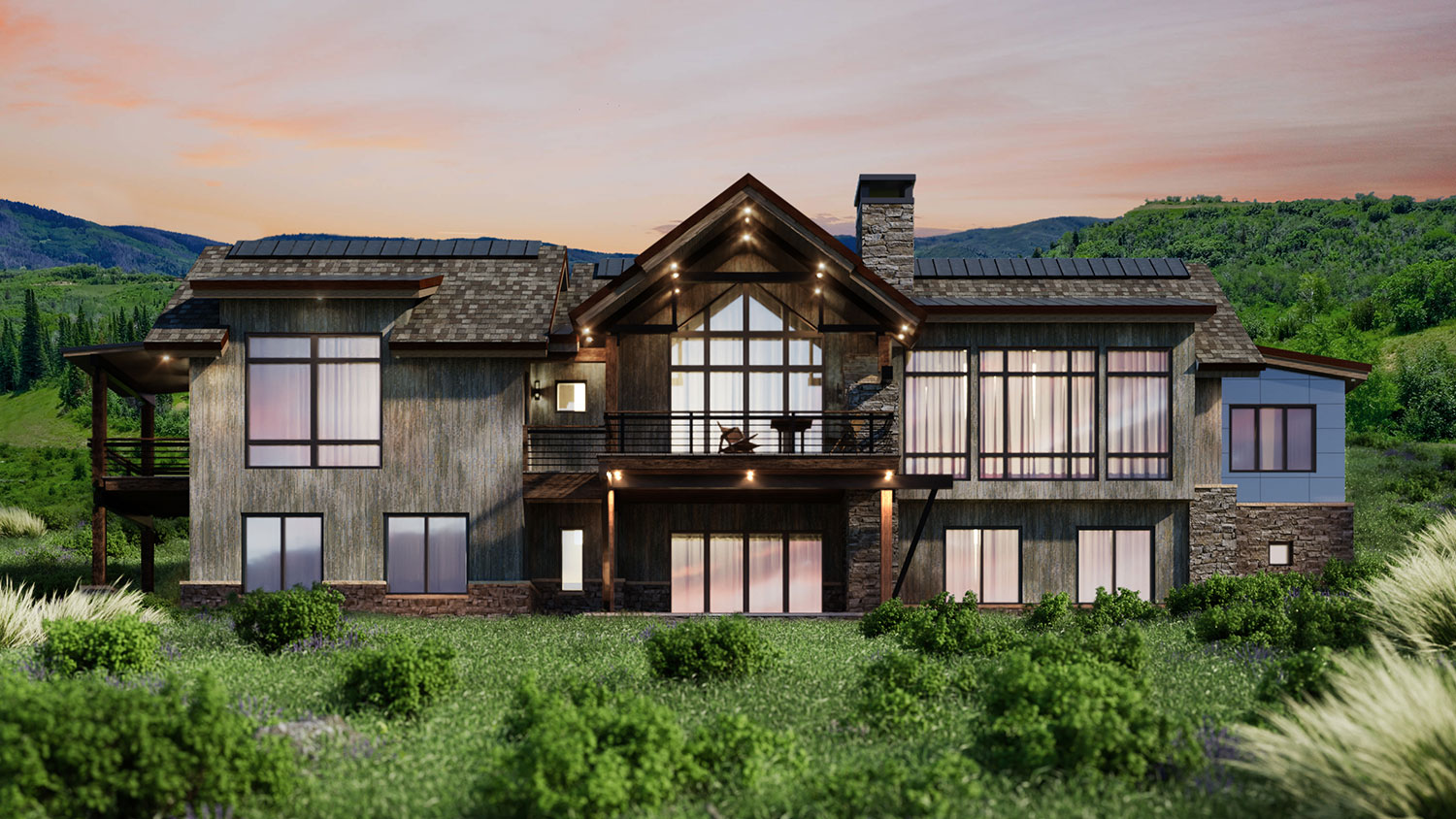 lot 44 spring 1 - Spring Kicks-Off Active Season of Home Building, Headlined by the Mountain Modern Trilogy Residence