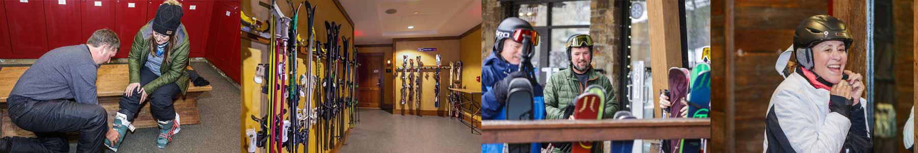 ski valet photos - Alpine Mountain Summit Club