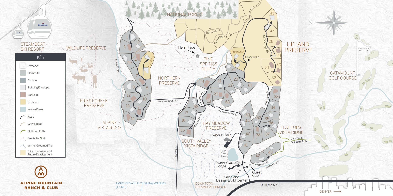 2021 Ranch Map - Master Plan Map