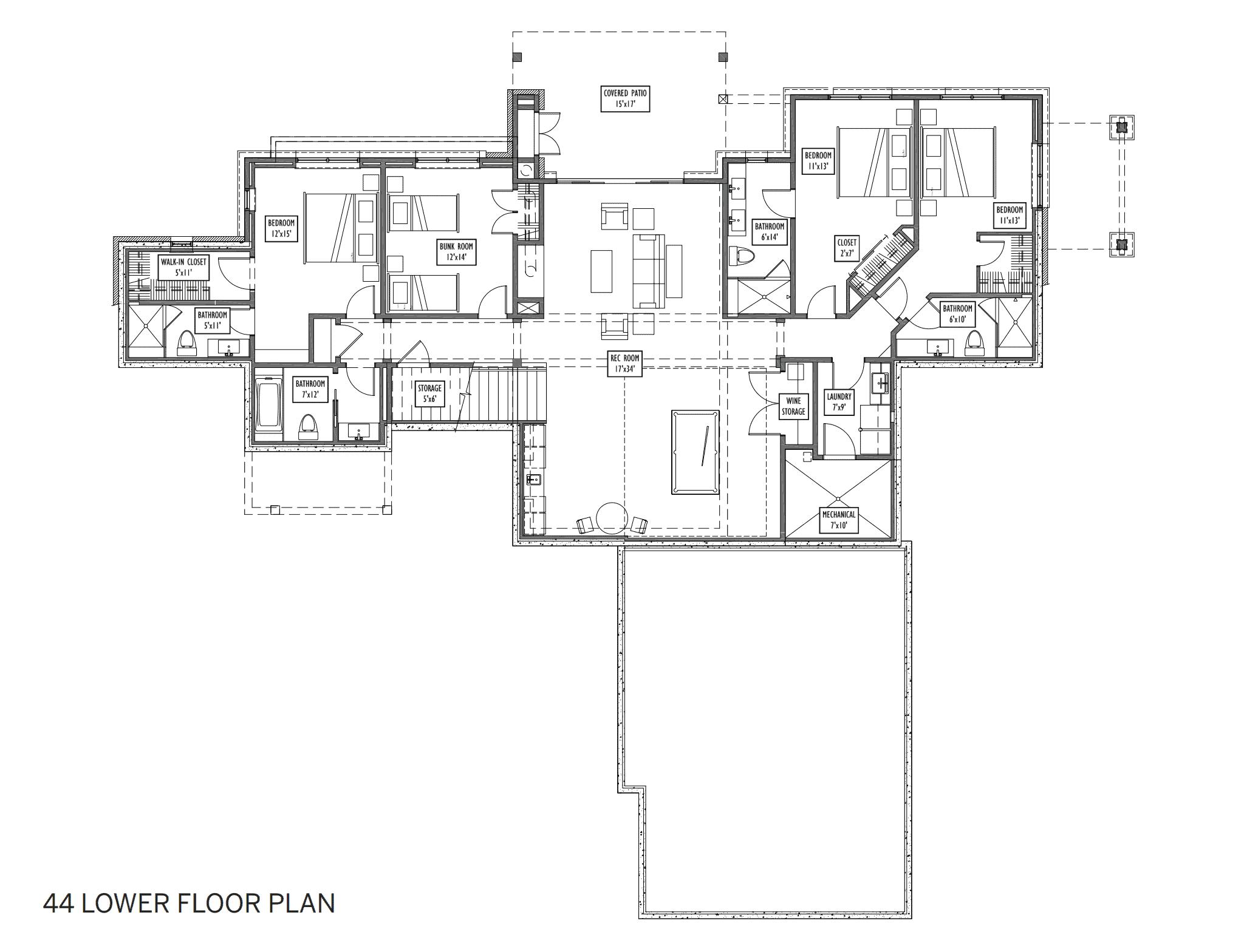 lot 44 floor plan 2 - Alpine Mountain Ranch & Club Broker Toolkit