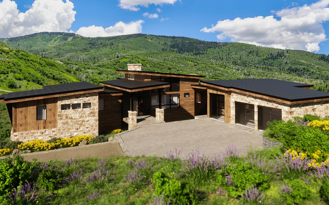 Spring Kicks-Off Active Season of Home Building, Headlined by the Mountain Modern Trilogy Residence