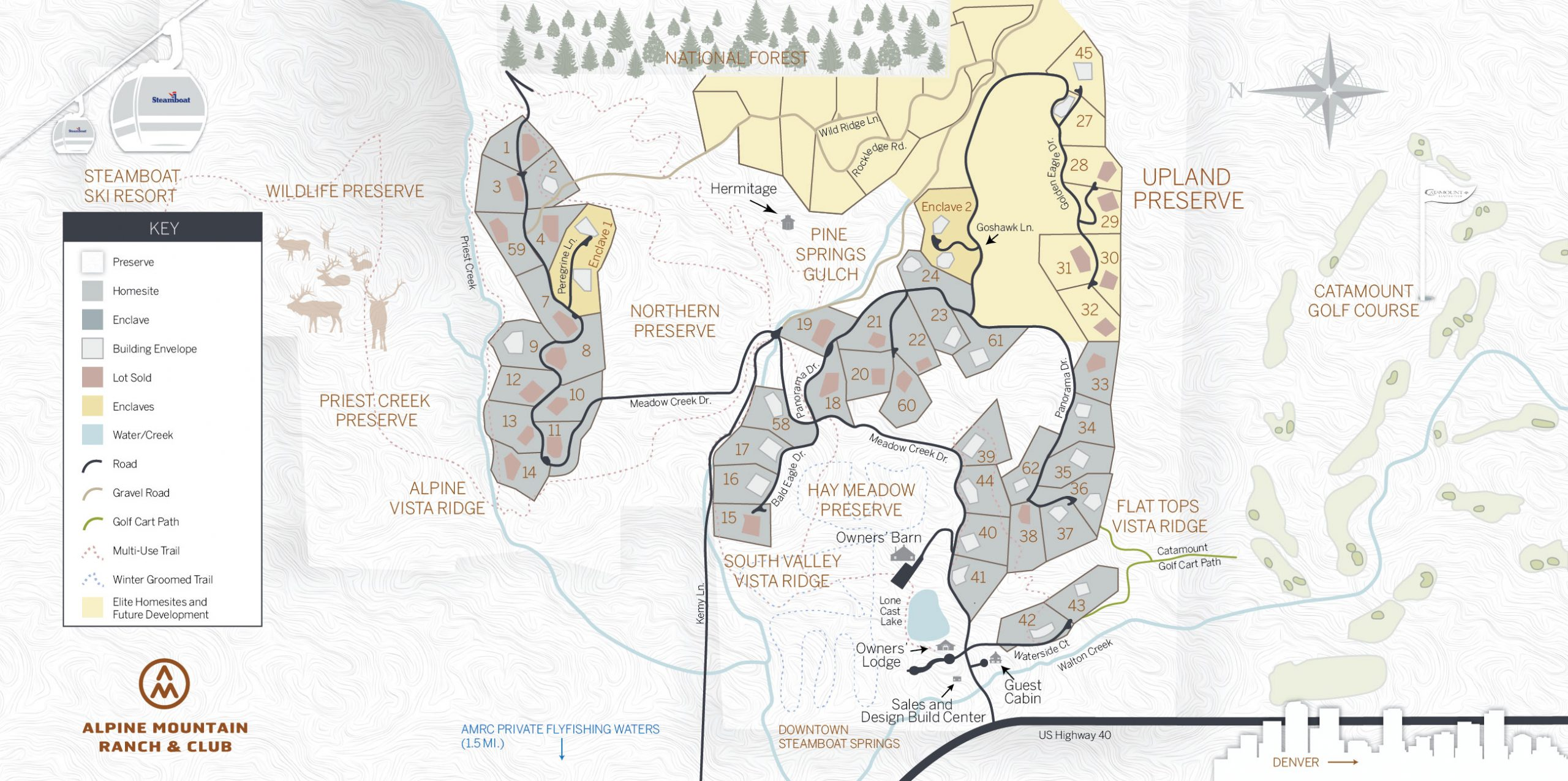 AMR New Ranch Map 2021 scaled - Master Plan Map