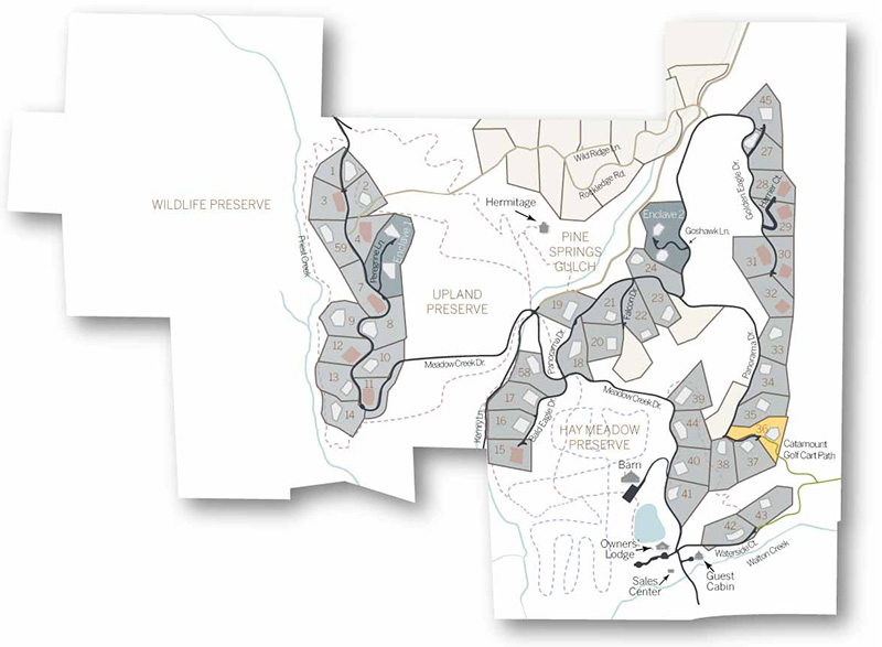 lot 36 map - Spring Kicks-Off Active Season of Home Building, Headlined by the Mountain Modern Trilogy Residence