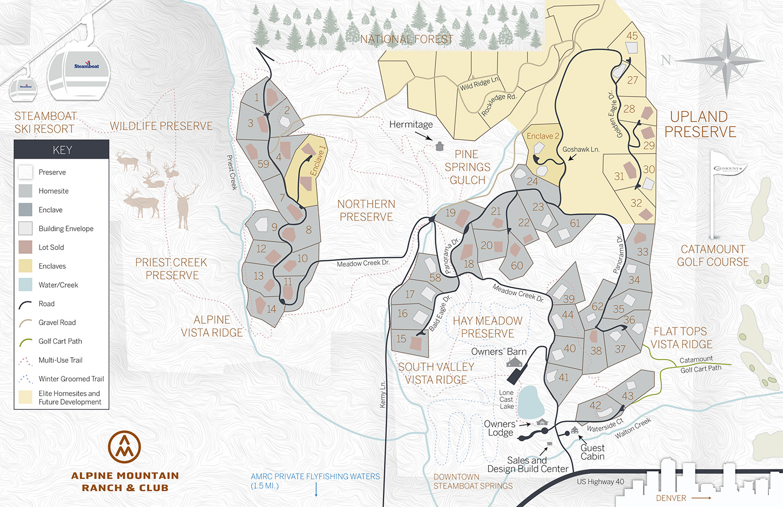 AMR Ranch Map June 2021 - Master Plan Map